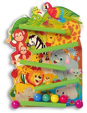 Hess Spielzeug Kugelbahn Dschungel