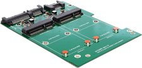DeLock SATA III mSATA Adapter (62480)
