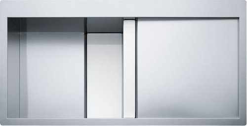 Franke Crystal CLV 214 edelstahl/weiß