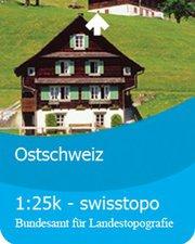 Satmap Ostschweiz 1:25K