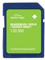 Satmap Berlin & Sachsen-Anhalt 1:50k