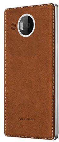 Mozo Lumia 950 XL BackCover braun
