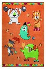 Wecon Home Teppich Little Artists orange (110x170cm)