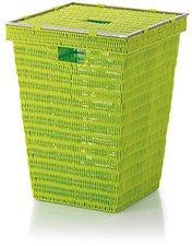 Kela Noblesse Wäschekorb lemongrün (22607)