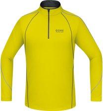 Gore Essential Zip Shirt lang sulphur yellow