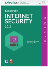 Kaspersky Internet Security 2016 (1 User) (1 Jahr) (DE) (Win) (Box)