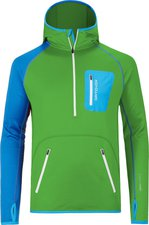 Ortovox Fleece (MI) Zip Neck Hoody M Absolute Green