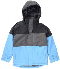 Burton Boys Symbol Snowboard Jacket True Black Block