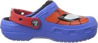 Crocs Kids Creative Crocs Spiderman Fuzz Lined Clog varsity blue