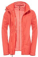 The North Face Women's Evolve II Triclimate Jacket Melon Red