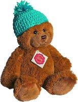 Hermann Teddy Teddy mit Häkelmütze 25 cm