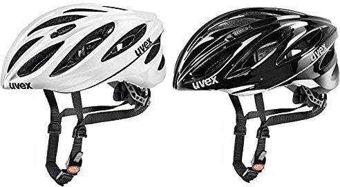 Uvex Boss Race weiß-schwarz