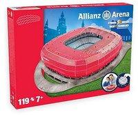 Preziosi 3D Allianz Arena München Rot (119 Teile)