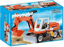 Playmobil City Action Schaufelbagger mit Räumschild (6860)