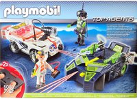 Playmobil Top Agents IR Future Cars (5088)