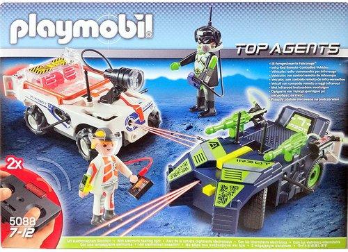 Playmobil Top Agents IR Future Cars (5088)