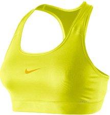 Nike Pro Damen Sport-BH neon gelb