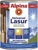 Alpina Farben Universal Holzlasur Kiefer 750 ml