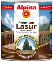 Alpina Farben Universal Holzlasur Teak 4 Liter (843828)