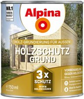 Alpina Farben Holzschutzgrund farblos 750 ml