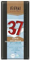 Vivani Zarte Vollmilch 37% Cacao (80g)