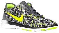 Nike Free TR 5 Print Wmn cool grey/volt/black