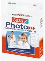 Tesa Photo-Klebepads 250 Stück weiß