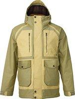 Burton Hellbrook Snowboard Jacket Grayeen / Wheat