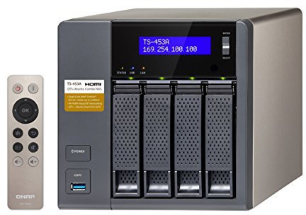 QNAP Turbo Station TS-453A-4G 4-Bay