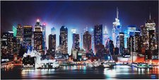 "Art-Land Glasbild  ""New York City - Times Square "" (100x50cm)"