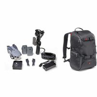 Manfrotto Advanced Travel Backpack grau