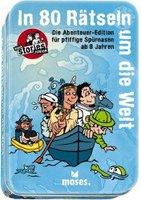 Moses black stories Junior - In 80 Rätseln um die Welt Die Abenteuer Edition