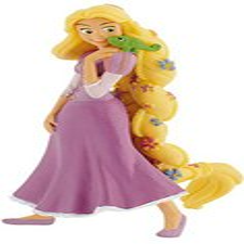 Rapunzel Figur