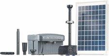Heissner Solar-Teichpumpen Set 750L/h mit LED