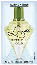 JEANNE ARTHES Love Never Dies Gold Eau de Parfum (60 ml)