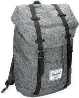 Herschel Retreat Backpack raven crosshatch/black rubber/3m insert