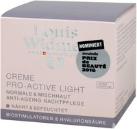 Louis Widmer Pro active Light Creme unparfümiert (50ml)