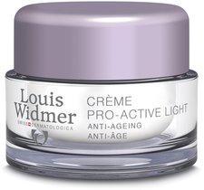Louis Widmer Pro active Light Creme unparfümiert (50ml)