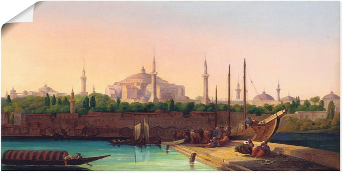 Istanbul Wandtattoo