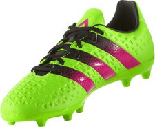 Adidas Ace 16.3 FG J solar green/shock pink/core black