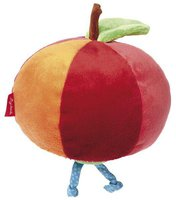 sigikid Rattel-Apfel mit Wurm