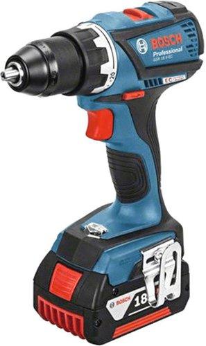 Bosch GSR 18 V-EC Professional 2 x 4.0 Ah + L-Boxx (0 601 9E8 101)
