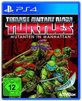 Teenage Mutant Ninja Turtles: Mutanten in Manhattan (PS4)