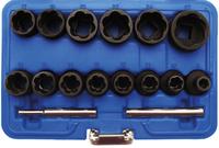 BGS Technic Steckschlüsseleinsätze 8 - 27 mm 1/2