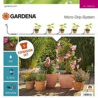 Gardena Micro-Drip System Erweiterungsset Pflanztöpfe (13005-20)