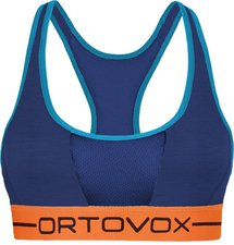 Ortovox Sport Top 185 Merino Rock'n'Wool Women strong blue