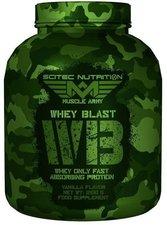 Scitec Nutrition Whey Blast 2100g Vanille