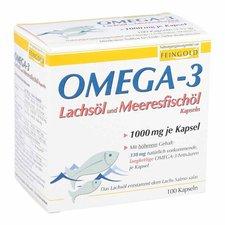 Burton Feingold Omega-3 Lachsöl und Meeresfischöl Kapseln (100 Stk.)