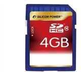 Silicon Power SDHC 4GB Class 10 (SP004GBSDH004V10)