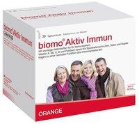 biomo-vital Aktiv Immun Trinkfläschchen + Tabletten 30-Tages-Kombi
